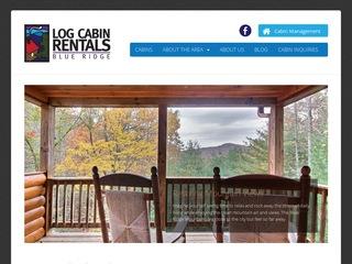 Log Cabin Rentals Blue Ridge