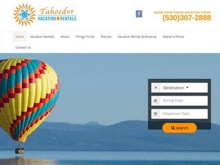 Tahoe Destination Vacation Rentals