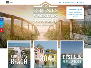 Luxury Vacation Rentals in Panama City Beach
