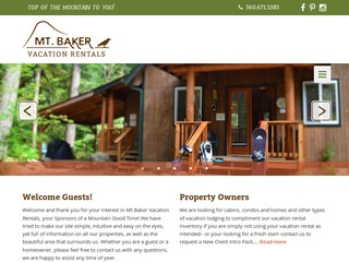 Mt. Baker Vacation Rentals