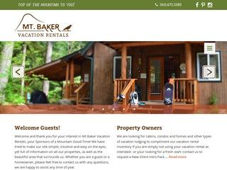 Mt. Baker Vacation Rentals