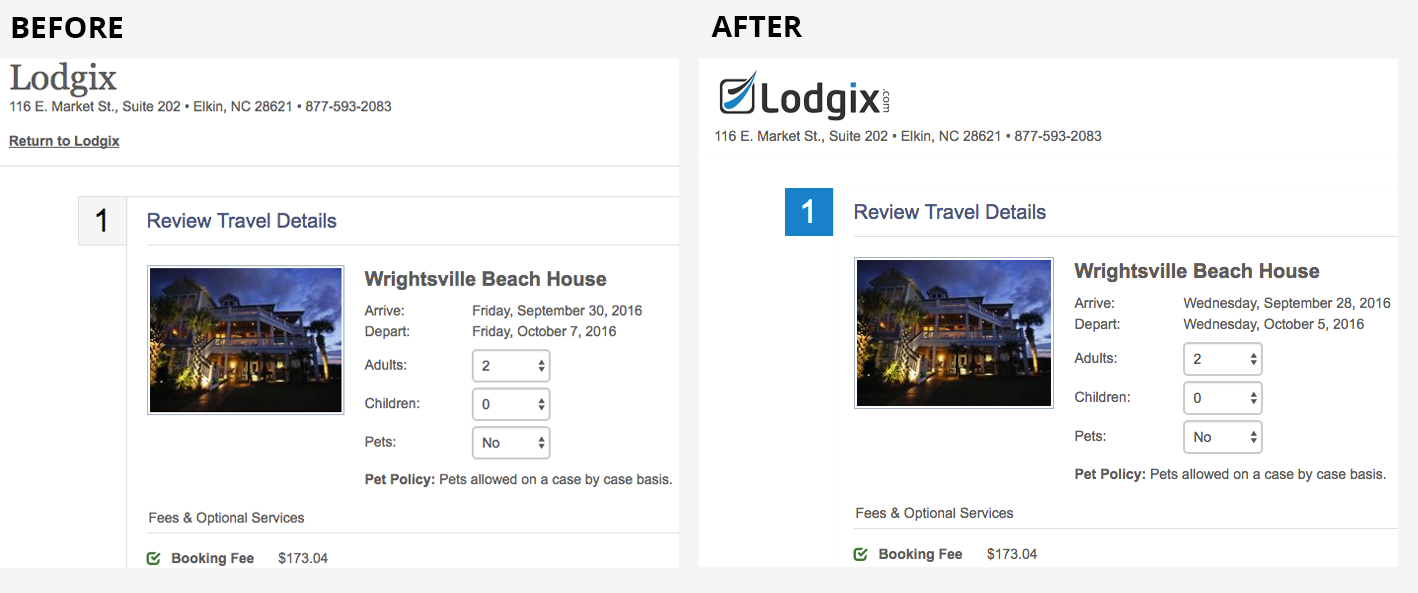 Booking-Page-Example