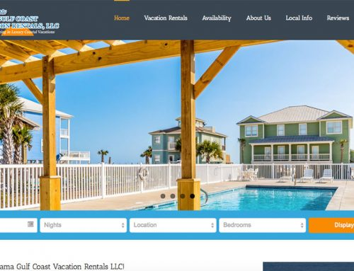 Alabama Gulf Coast Vacation Rentals