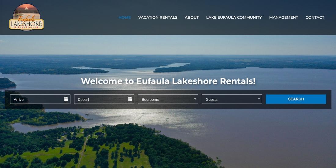 Eufaula Lakeshore Rentals